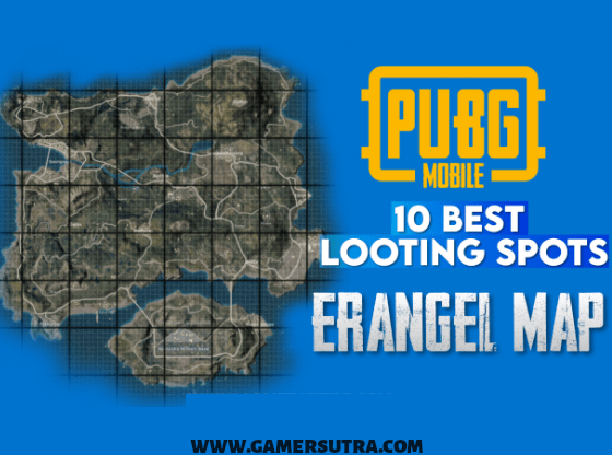 PUBG Erangel map