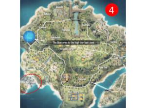 Rim Nam Village- Looting spots in Bermuda Map