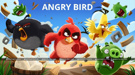 Angry Birds - Top 10 Mobile Games with Most Downloads