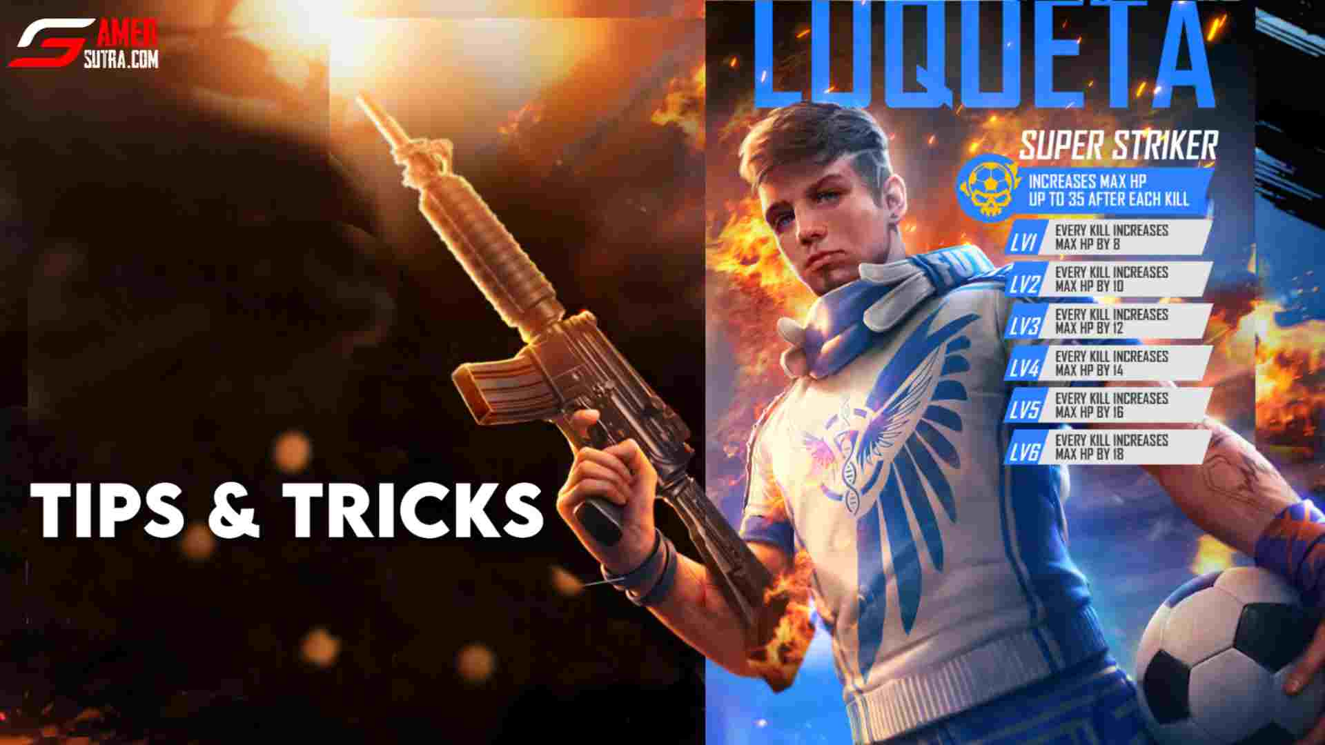 Free Fire Luqueta Character Tips And Tricks Gamer Sutra