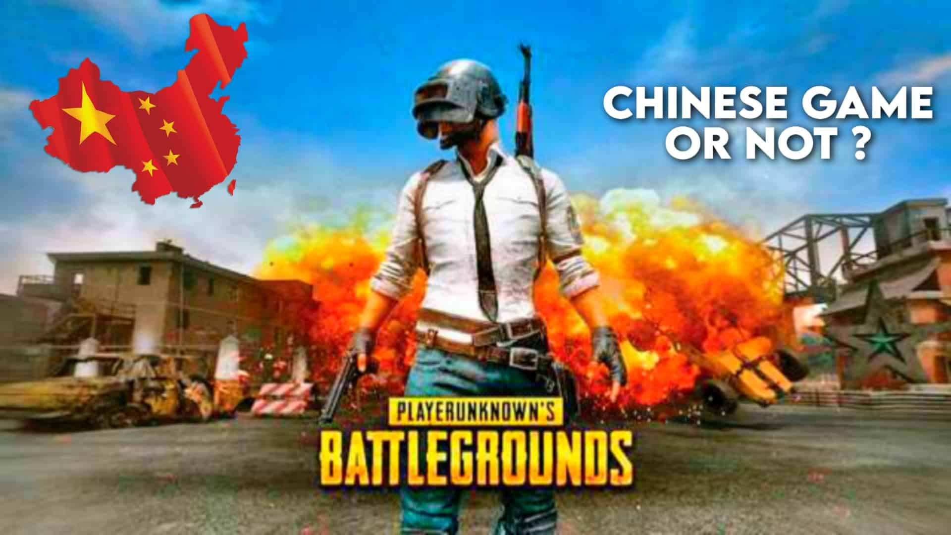 PUBG Mobile is a Chinese Game Or Not- Origin Of PUBG Mobile
