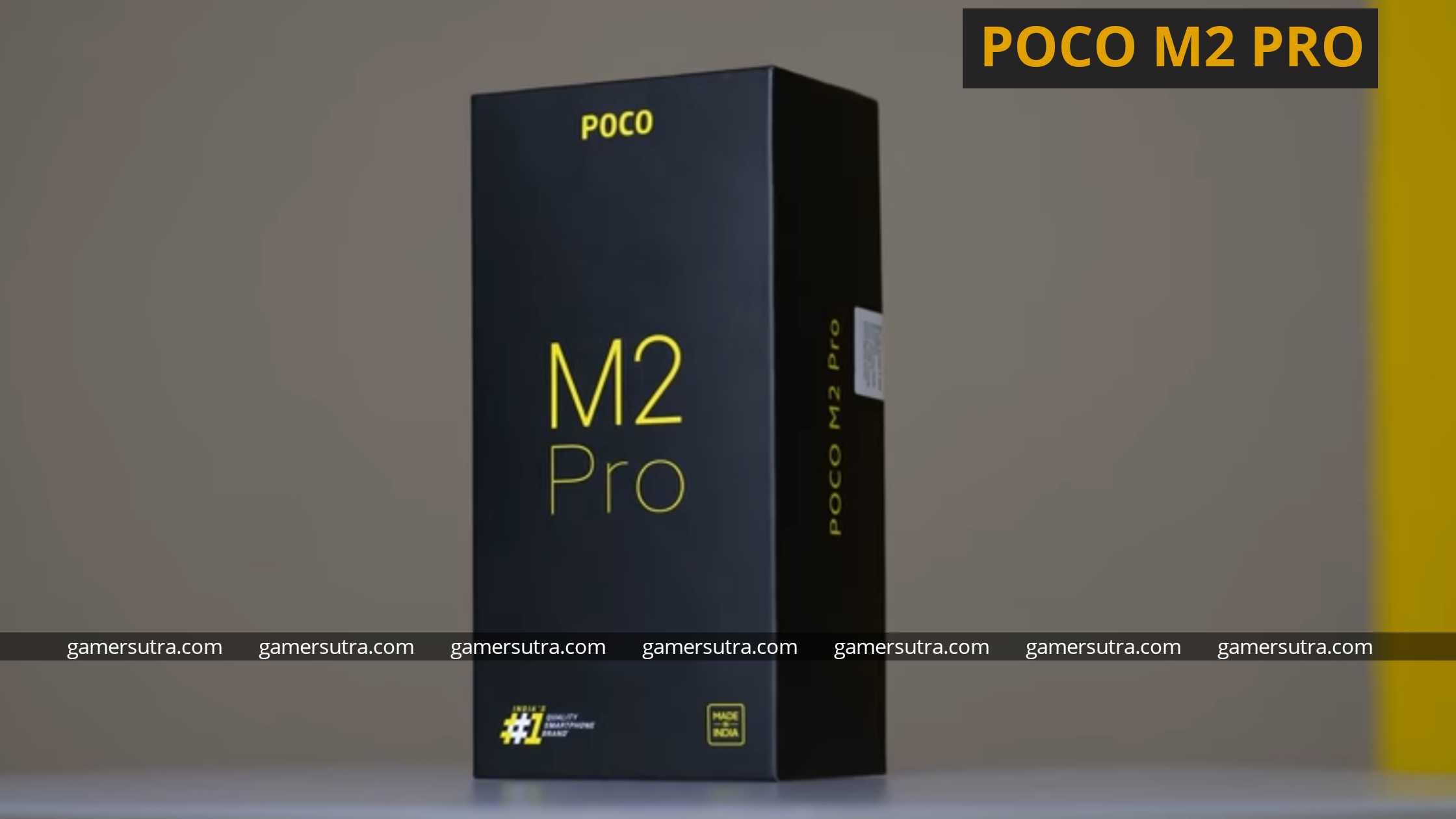 Poco M2 Pro - best Gaming phones under 15000