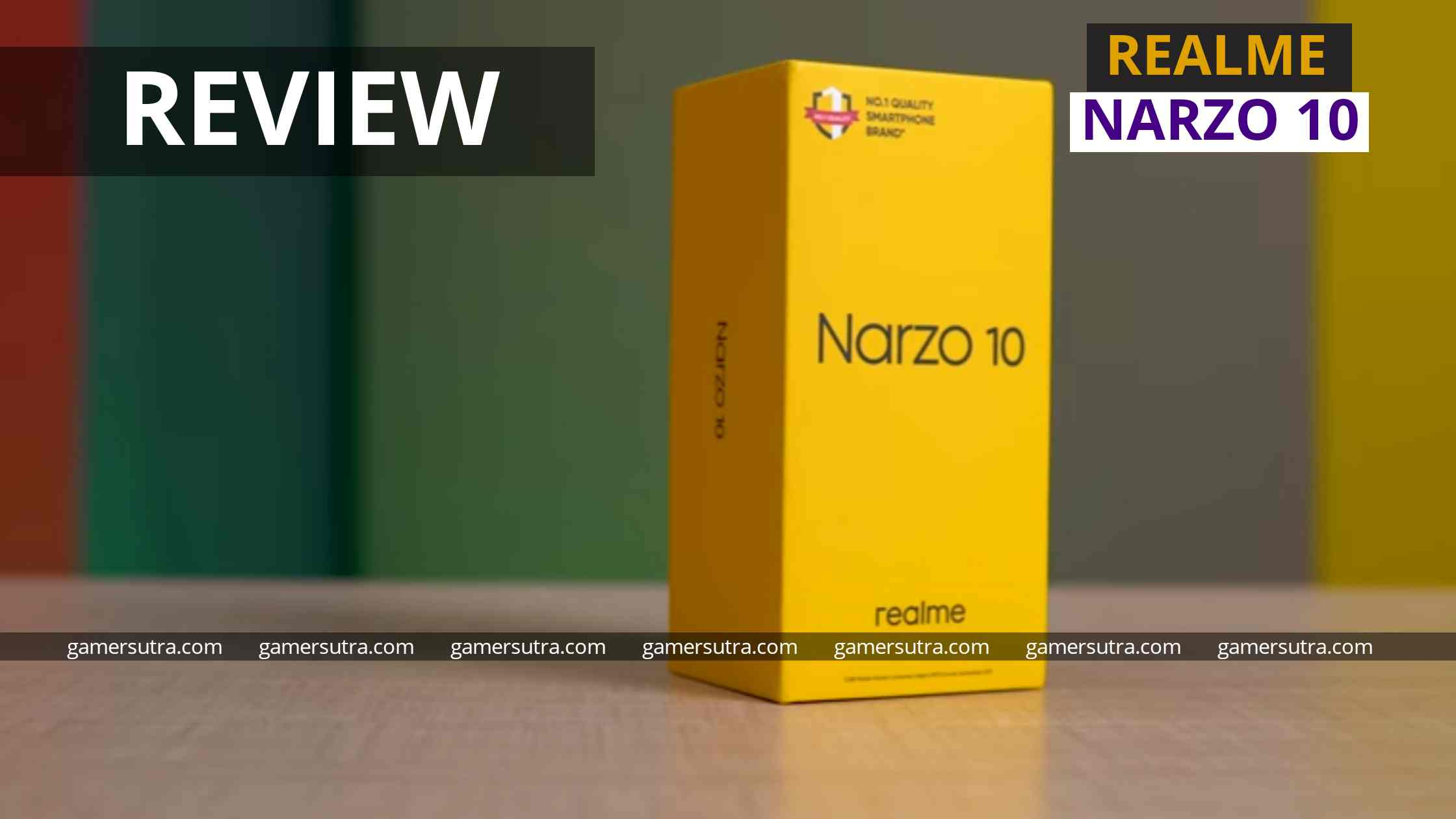 Realme Narzo 10 review - A Budget Gaming Phone or Not!