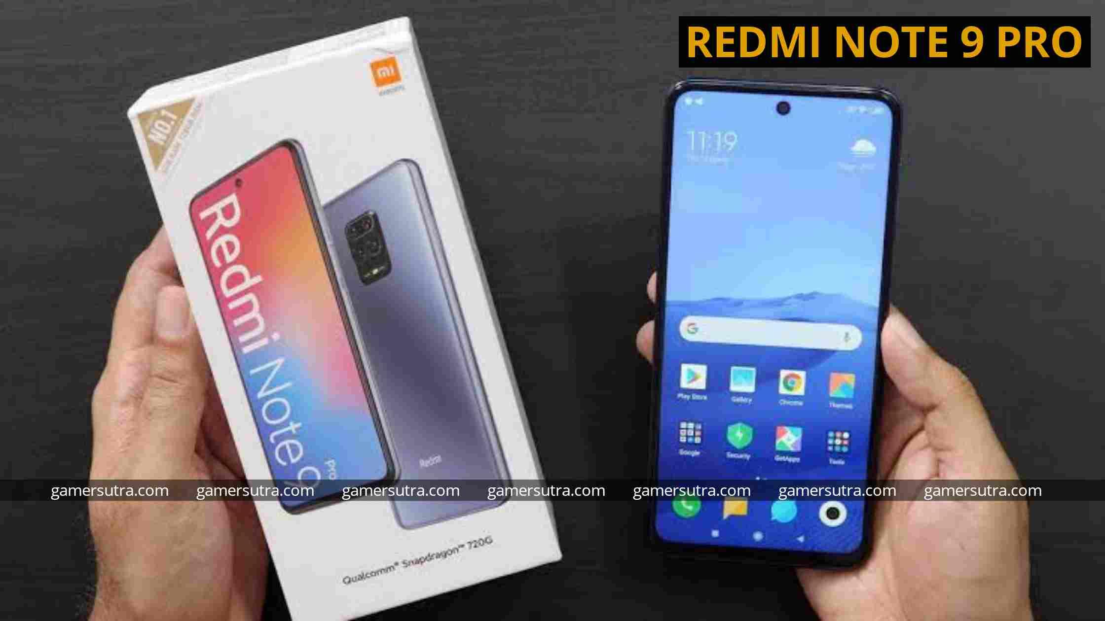 Redmi Note 9 pro - best Gaming phones under 15000