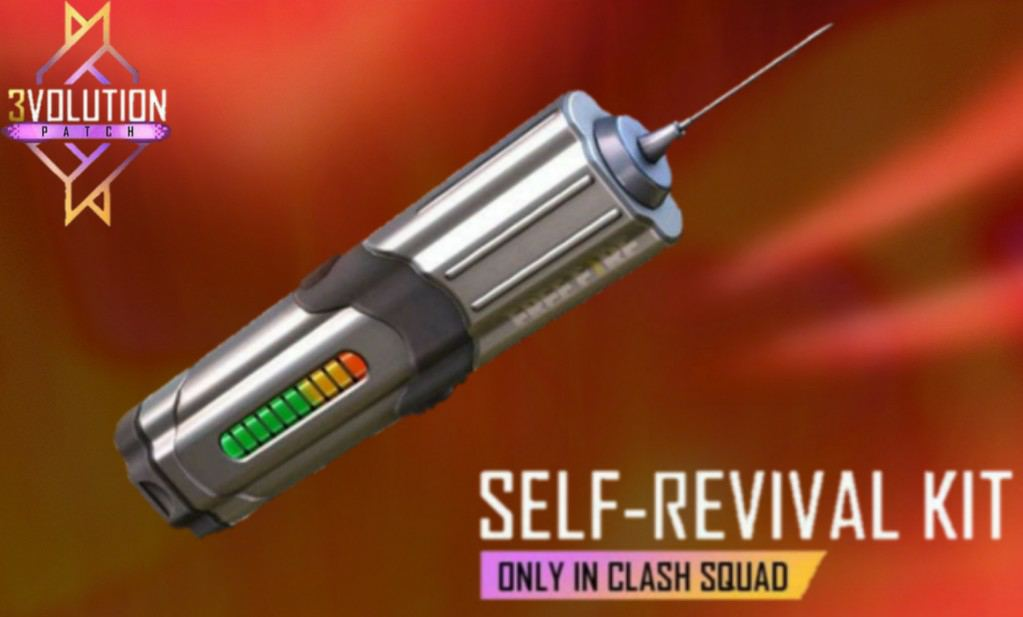 How to use self revive kit in Free Fire