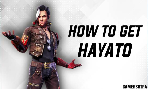 HOW TO GET HAYATO CHARACTER IN FREE FIRE