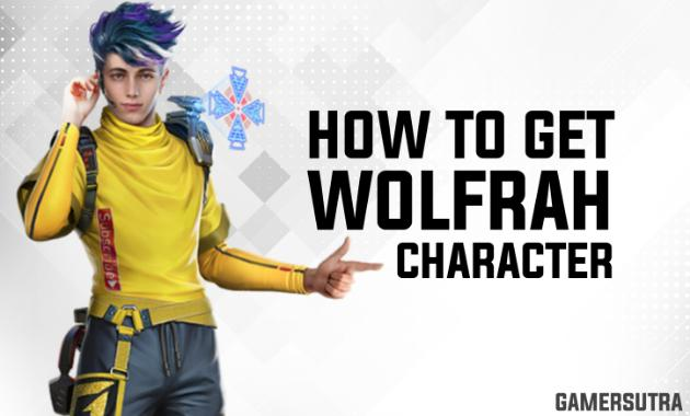How To Get Wolfrahh Character In Free Fire
