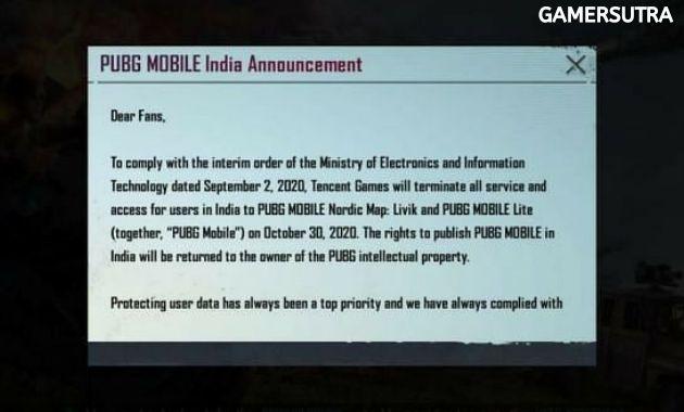 PUBG Server Down in India