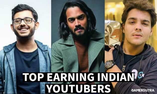 Top-Earning Indian YouTubers 2020 YouTubers