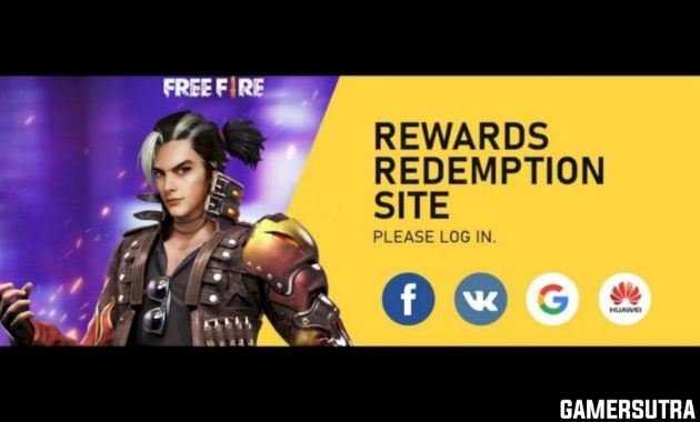 Free Fire Redeem Codes Today November 2020