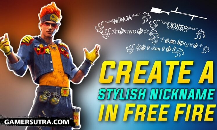 How to create a stylish nickname in Free Fire