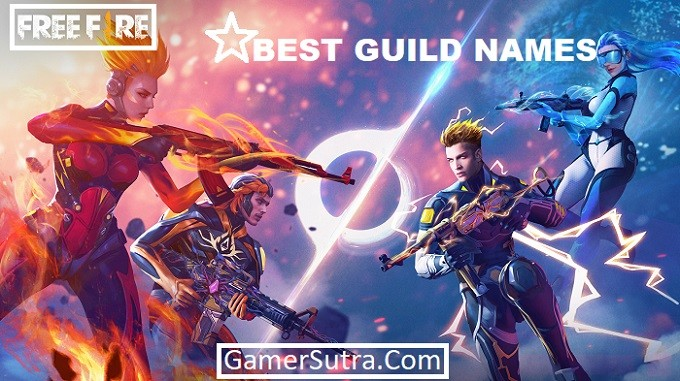 Top 10 Best Guild Names for Free Fire