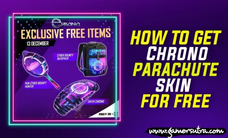 How to Get Enter Chrono Parachute Skin For Free