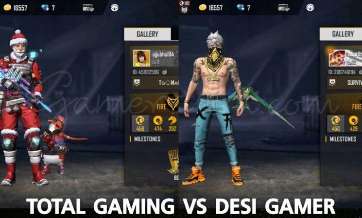 Free Fire: Total Gaming vs Desi Gamers