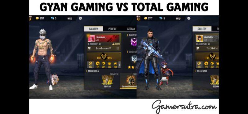 Garena Free Fire: Gyan Gaming Vs. Total Gaming - Who Has Better Stats?