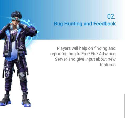 Free Fire Advance Server Registration For 2021 Bug Hunting & Feedback