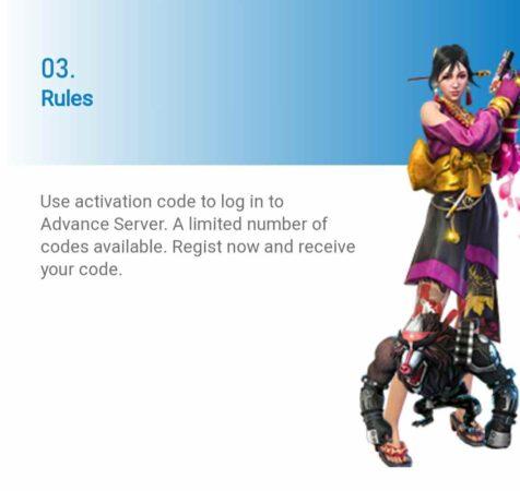 Free Fire Advance Server Registration For 2021 Rule