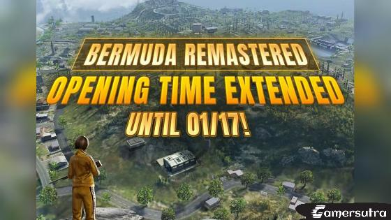 Why Bermuda Remastered Map Removed from Free Fire