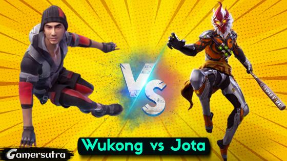 Wukong vs Jota - Which is the Best Character in Free Fire