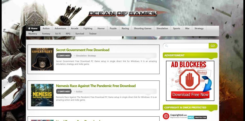 Top 10 Sites To Download Free PC Games in 2021 Step 1-i