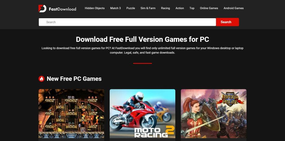 Top 10 Sites To Download Free PC Games in 2021 Step 4-i