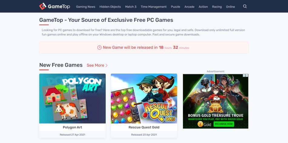 Top 10 Sites To Download Free PC Games in 2021 Step 5-i