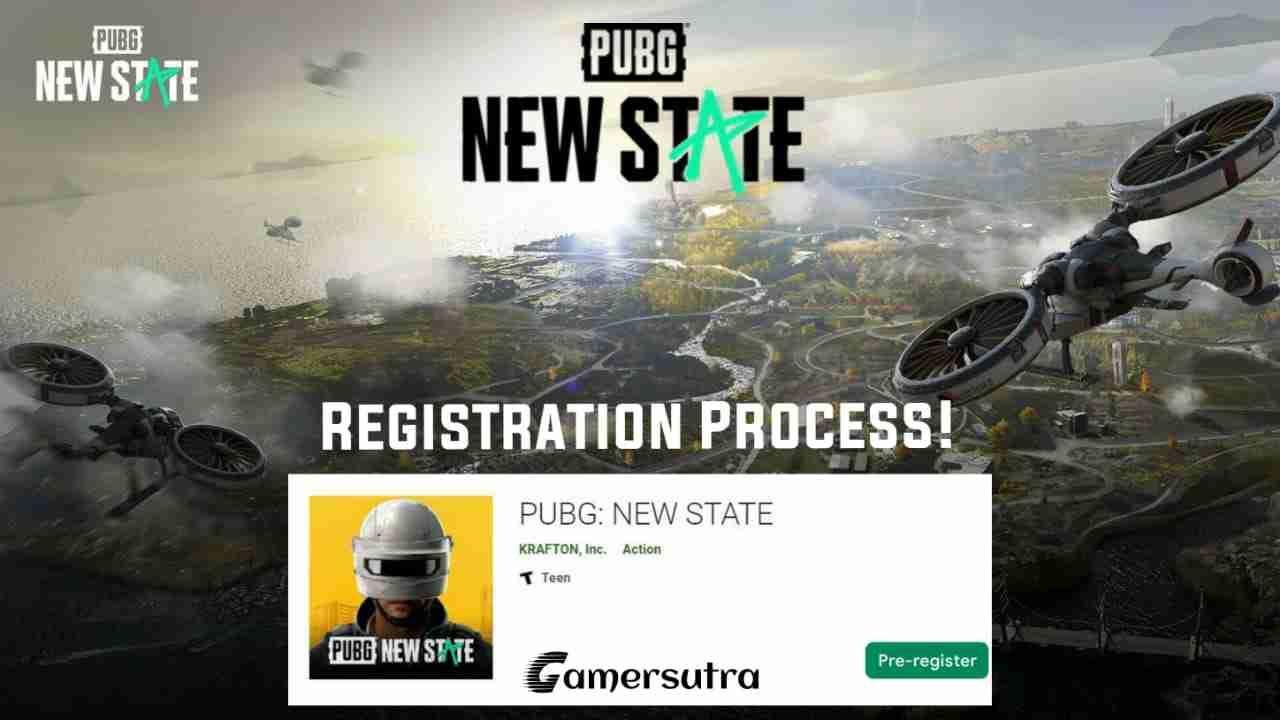 PUBG New State Pre Registration Step By Step Guide
