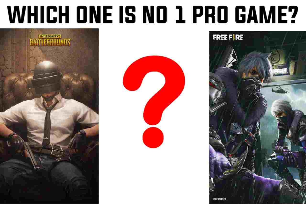 Which is the No 1 Pro Game In The World ? Free Fire Or Pubg?