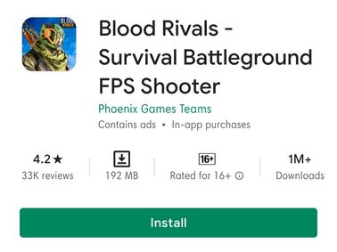 Blood Rivals